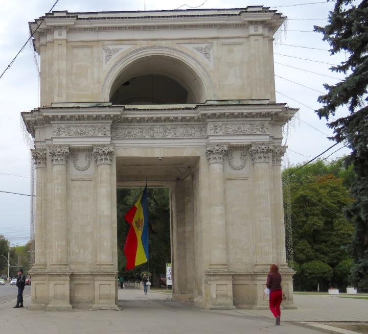 Arc de Moldova - By Anika Mikkelson www.MissMaps.com