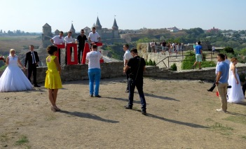 Battle of the Brides Kamianets-Podilskyi - Photo by Anika Mikkelson, MissMaps.com