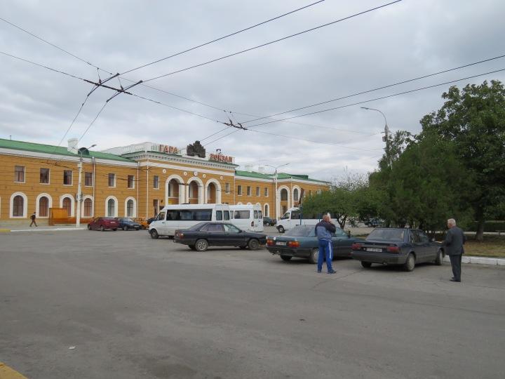 Gara Vokzal - Bus Station - Tiraspol, Transnistria - By Anika Mikkelson www.MissMaps.com
