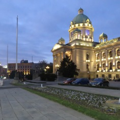House of the National Assembly - Republic Parliament - Belgrade Serbia
