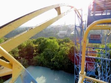 Kamianets-Podilskyi from a Ferris Wheel - Photo by Anika Mikkelson, MissMaps.com