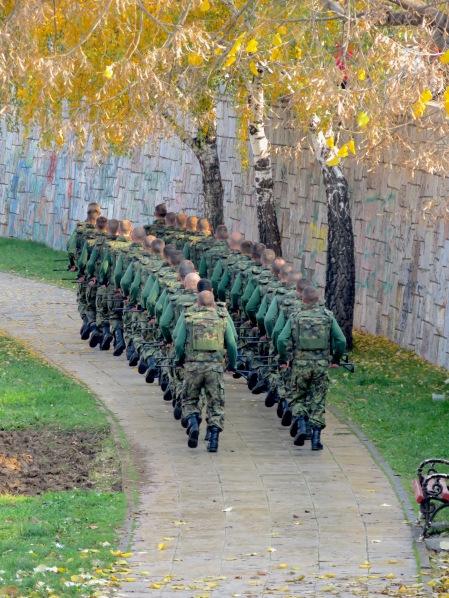 Military Drills - Nis, Serbia