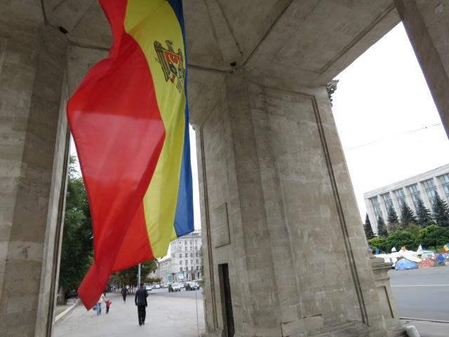 Moldovan Flag - By Anika Mikkelson www.MissMaps.com