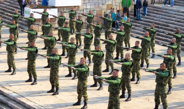 Nis Serbia Military Drills