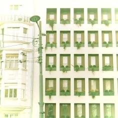 Orderly Windows of Communist Era Buildings - Belgrade, Serbia
