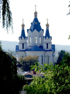 Saint George's Cathedral Kamianets-Podilskyi - Photo by Anika Mikkelson, MissMaps.com