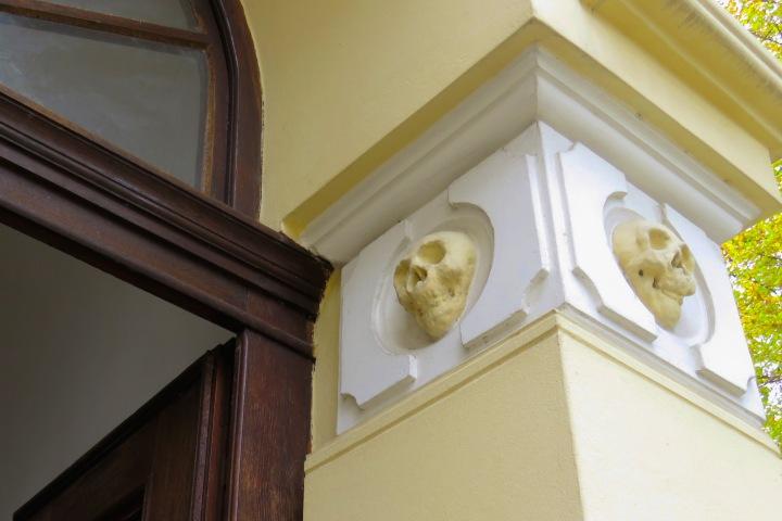 Skull Tower Details - Nis, Serbia
