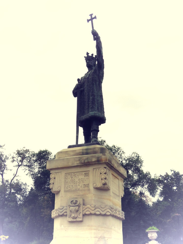 Stefan cel Mare - Stephan the Great - Chisinau, Moldova - By Anika Mikkelson www.MissMaps.com