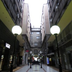 Symmetrical Back Alleys - Belgrade, Serbia