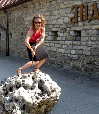 The Sorcerer's Stone Kamianets-Podilskyi - Photo by Anika Mikkelson, MissMaps.com