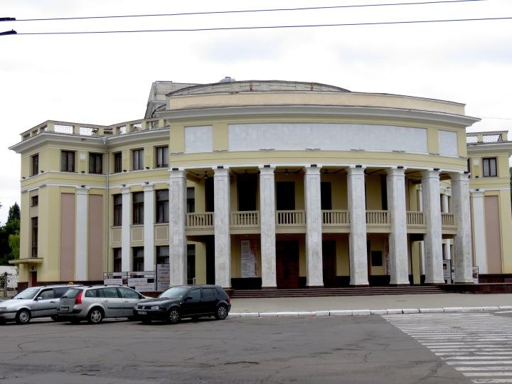 Theatre of Drama and Comedy - Tiraspol, Transnistria - Anika Mikkelson www.MissMaps.com