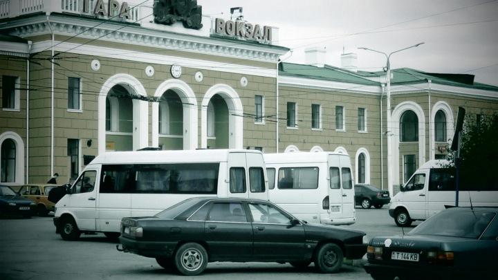 Tiraspol, Transnistria Gara Voksal - Bus Station - By Anika Mikkelson www.MissMaps.com