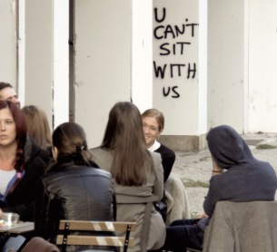 U Can't Sit With Us - Belgrade Serbia - by Anika Mikkelson - Miss Maps