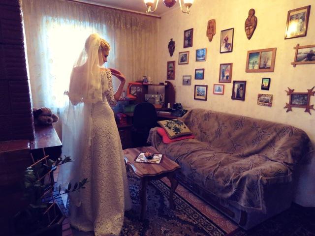 The Blushing Bride on her wedding day - Khmelnetskyi, Ukraine - by Anika Mikkelson - Miss Maps