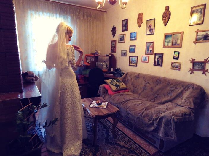 The Blushing Bride- Anika Mikkelson www.MissMaps.com