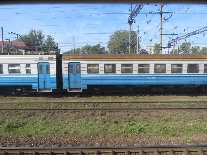Ukrainian Train Ukraine - Anika Mikkelson - www.MissMaps.com