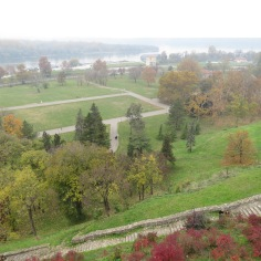 View From Above - Belgrade Fortress and the Mighty Danube River - Belgrade Serbia