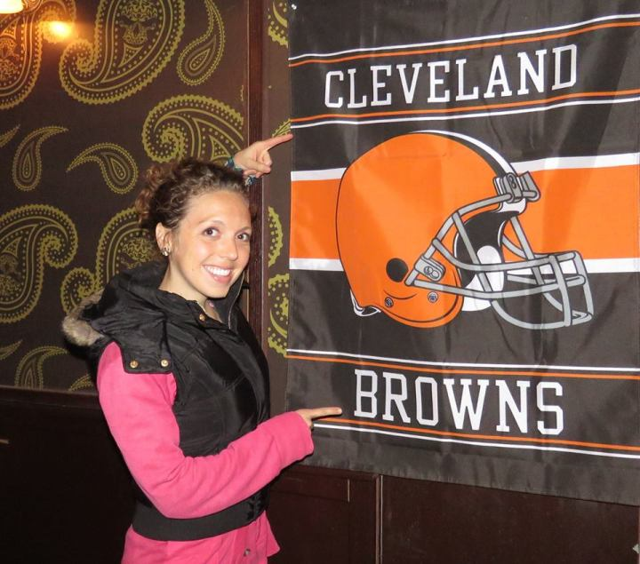 I Found the Cleveland Browns in Kosovo