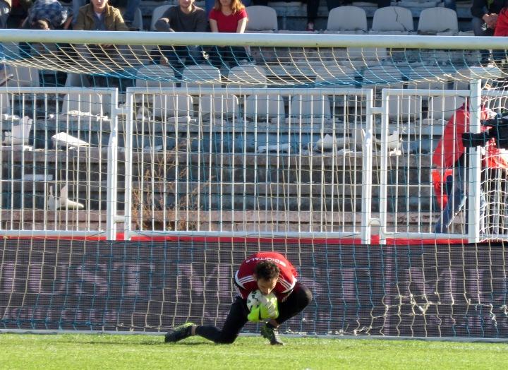 Albanian Goal Keeper