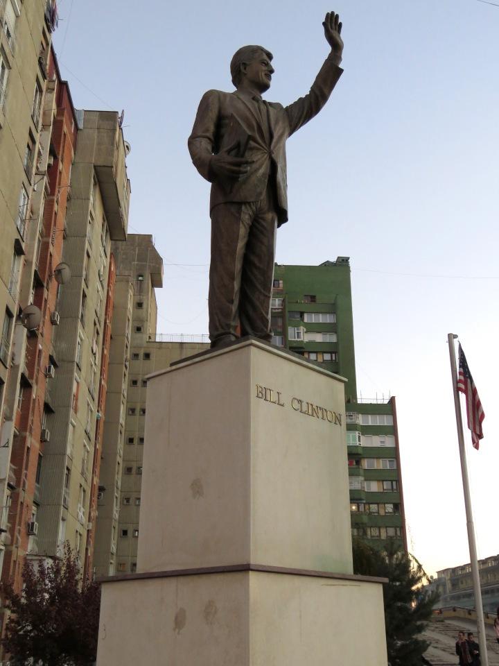 Bill Clinton Statue - Pristina, Kosova