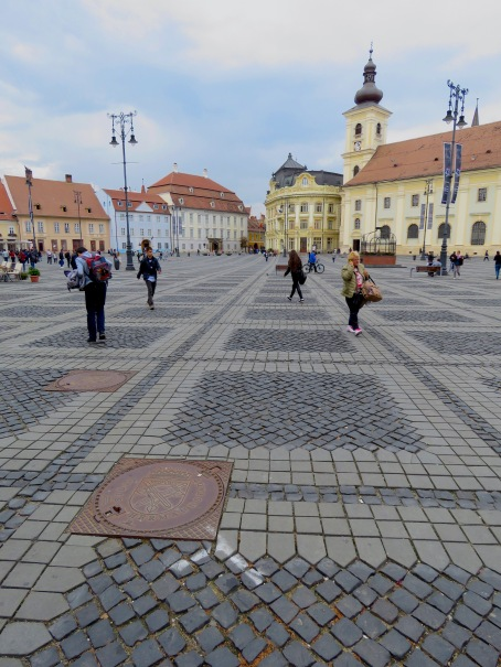 Central Square Sibiu, Romania - Anika Mikkelson - Miss Maps - www.MissMaps.com