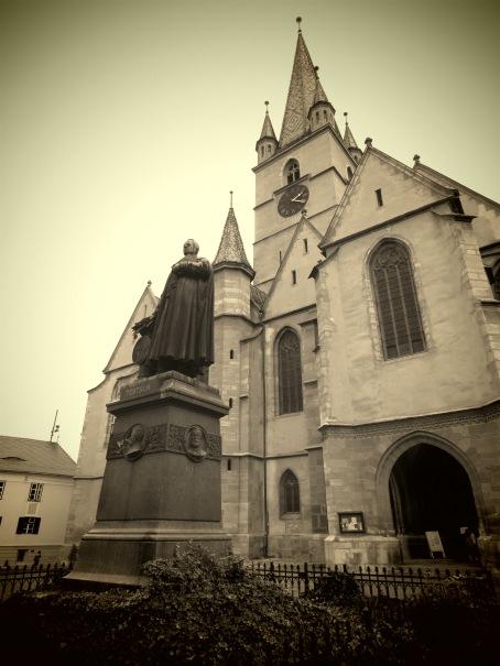 Evangelical Church - Sibiu, Romania - Anika Mikkelson - Miss Maps - www.MissMaps.com