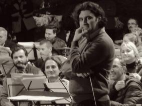 Dirijor (Director) Mihnea Ignat from Spain - Concert Simfonic in Pestera Romanesti - Timis, Romania by Anika Mikkelson www.MissMaps.com