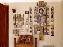 Displays within Miron Monastery, Romania - by Anika Mikkelson - Miss Maps - www.MissMaps.com