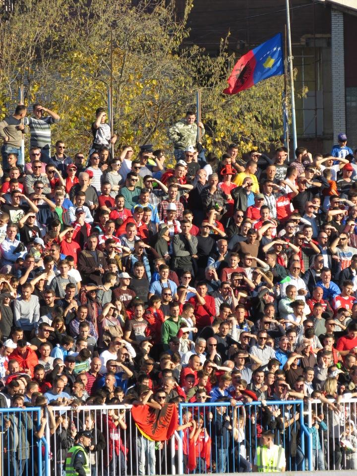 The Double Flag Flies High - Pristina, Kosovo