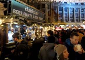 Hot Beer and Mulled Wine at Bucharest's Christmas Market (Have you ever heard of hot beer?) - - Bucharest Romania - by Anika Mikkelson - Miss Maps - www.MissMaps.com