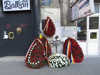 In memorium of the revolution - Bucharest Romania - by Anika Mikkelson - Miss Maps - www.MissMaps.com