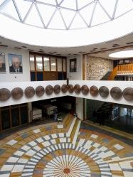 Inside Kosovo National Library