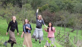 Jumping for joy - at least one of us is!