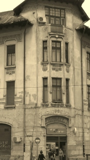 Lower Town Sibiu - Sibiu, Romania - by Anika Mikkelson - Miss Maps - www.MissMaps.com