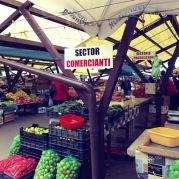 Lower Town Sibiu's Fresh Food Market - Sibiu Romania - by Anika Mikkelson MissMaps.com