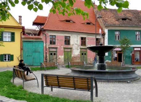 Lowertown Sibiu - by Anika Mikkelson - Miss Maps - www.MissMaps.com