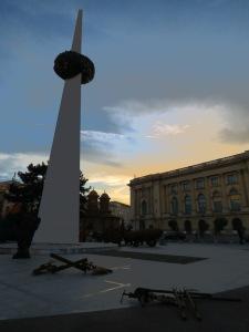 Memorial of Rebirth at Piata Revolutiei - Bucharest Romania - by Anika Mikkelson - Miss Maps - www.MissMaps.com