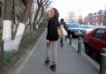 Pa Pa, Romania (Bye bye!) - Bucharest Romania - by Anika Mikkelson - Miss Maps - www.MissMaps.com