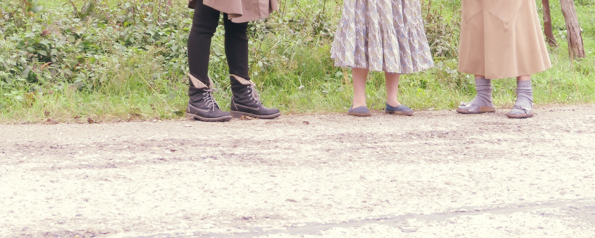 Just Feet - Volunteers at a Romanian Monastery - Anika Mikkelson - Miss Maps
