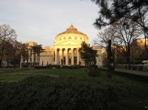 Romanian Anthenaeum - Bucharest's renowned concert hall - Bucharest, Romania - by Anika Mikkelson - Miss Maps - www.MissMaps.com