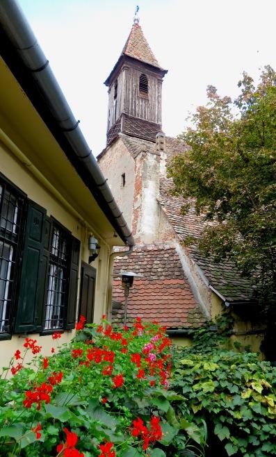 Wooden Church of Lower Town Sibiu- Sibiu, Romania - by Anika Mikkelson - Miss Maps - www.MissMaps.com