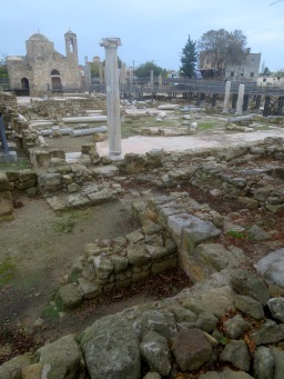 Ayia Kyriaki Chrysopolitissa - The Angelic Church of Paphos Cyprus - by Anika Mikkelson - Miss Maps - www.MissMaps.com
