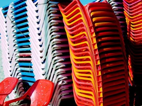 Chair Hire - Tel Aviv Israel - by Anika Mikkelson - Miss Maps - www.MissMaps.com