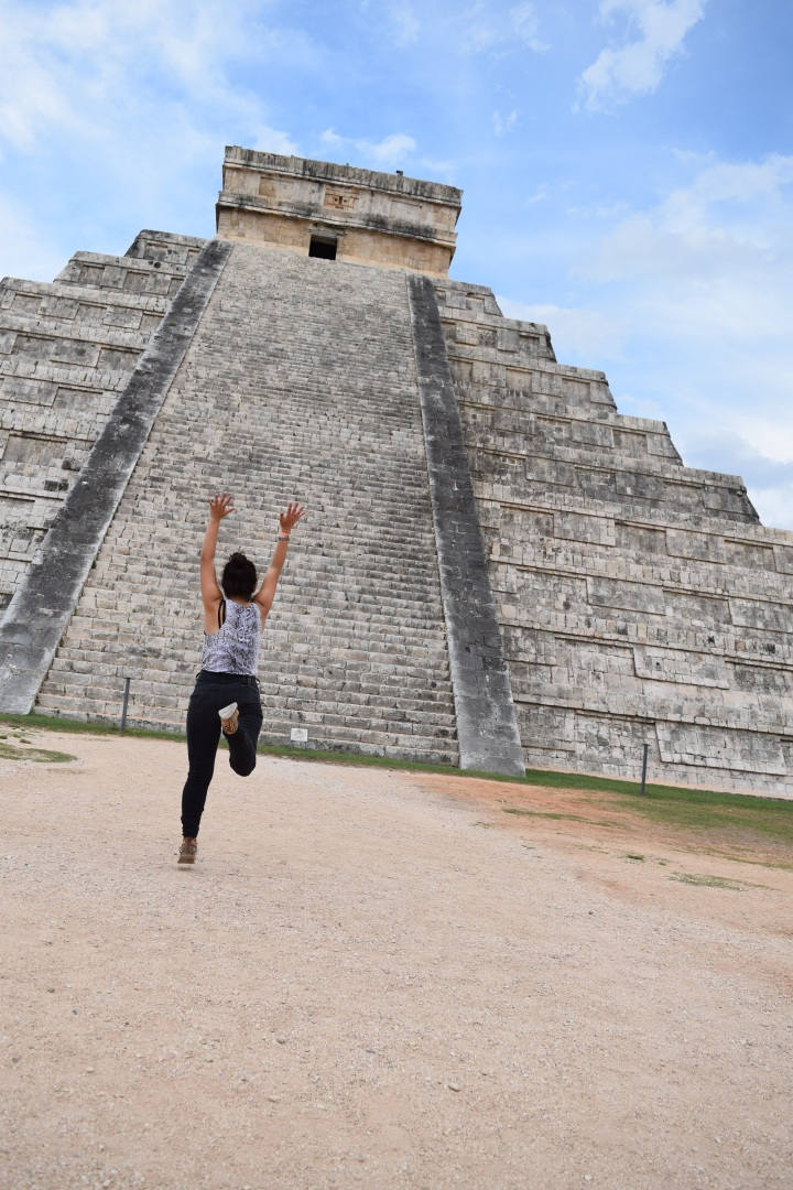 Deafinitely Wanderlust at Chicen Itza, Yucatan, Mexico