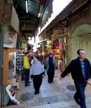 Inside Old City Jerusalem's Muslim Quarter - by Anika Mikkelson - Miss Maps - www.MissMaps.com