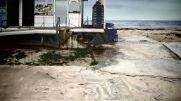 Lighthouse Beach in Paphos, Cyprus - by Anika Mikkelson - Miss Maps - www.MissMaps.com