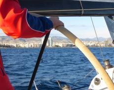 Limassol from the Sailboat - Limassol Cyprus - by Anika Mikkelson - Miss Maps - www.MissMaps.com