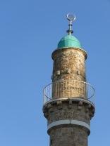Mahmoudiya Mosque Minaret - Old Jaffa, Tel Aviv, Israel - by Anika Mikkelson - Miss Maps - www.MissMaps.com