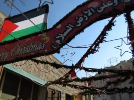 Merry Christmas from Palestine - Bethlehem - by Anika Mikkelson - Miss Maps - www.MissMaps.com