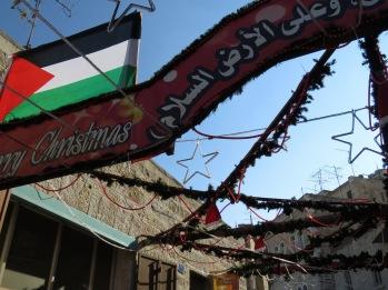 Merry Christmas from Palestine - Bethlehem - by Anika Mikkelson - Miss Maps - www.MissMaps.com